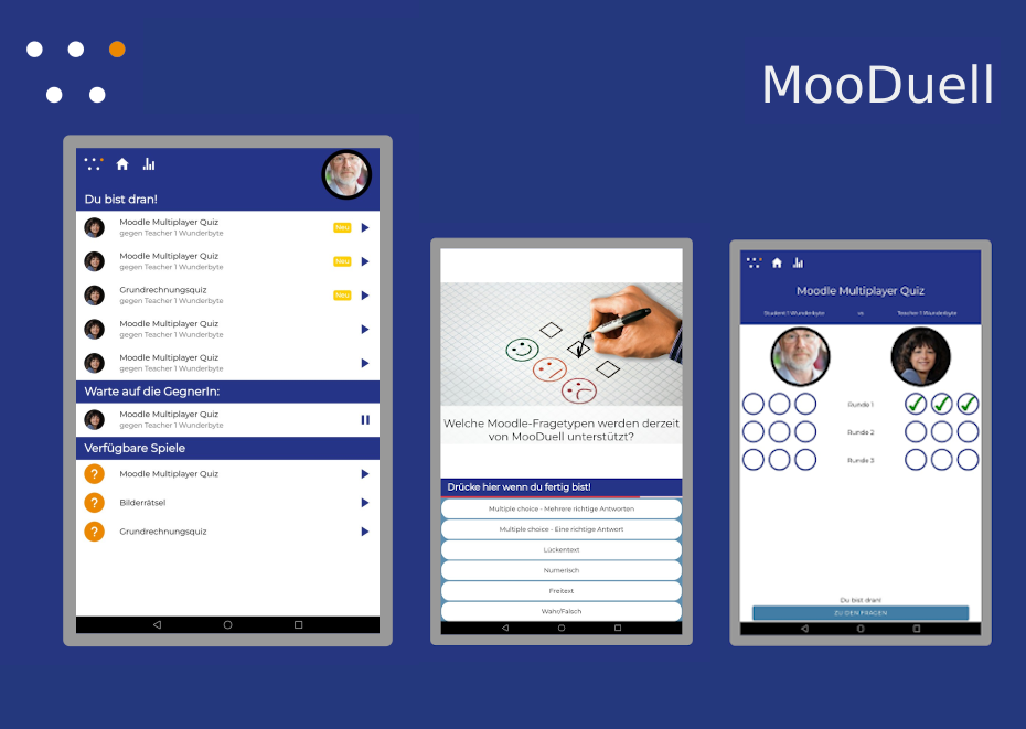 Moodle Multiplayer Quiz MooDuell